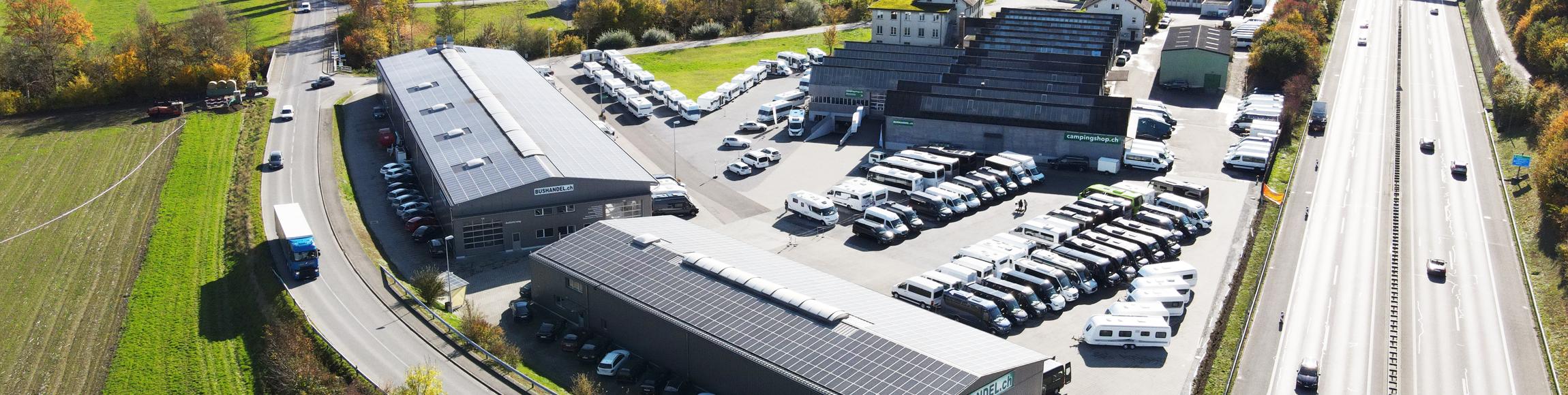 Eine der modernsten Werkstätten der Schweiz!